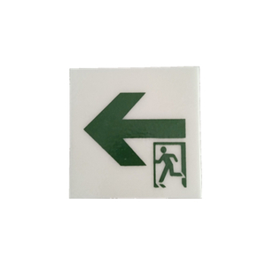 Inorganic Light Storage Self-luminous Emergency Exit Sign in Building
