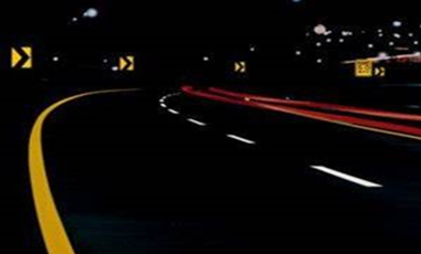 Energy-storage Self-luminous and Reflective Road Marking