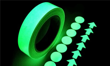 A Self-luminous Material Indication System from China